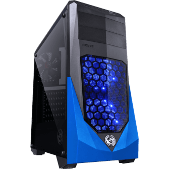Gabinete Gamer PCyes VTI, Mid Tower, Com 3 Fans
