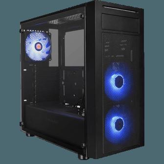 Gabinete Gamer Thermaltake Versa J22 RGB, Mid Tower, Com 3 Fans