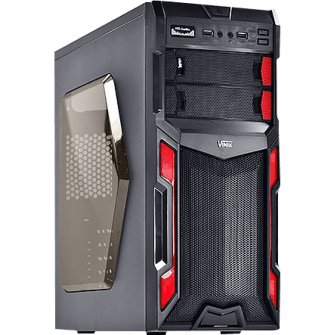 Gabinete Gamer Vinik VX Typhoon Window, Mid Tower