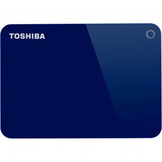HD Externo Portátil Toshiba Canvio Advance 3TB HDTC930XL3CA USB 3.0 Azul