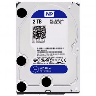 HD Western Digital Caviar Blue WD20EZRZ 2TB 5400RPM 64MB SATA III