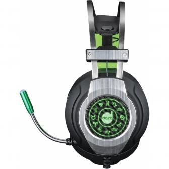 Headset Gamer DAZZ Savage 7.1 625131 Preto/Verde