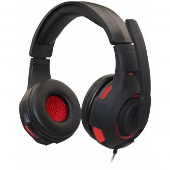 Headset Gamer Havit Magic Eagle Ultra Light 3.5mm HV-H2213D USB Preto/Vermelho