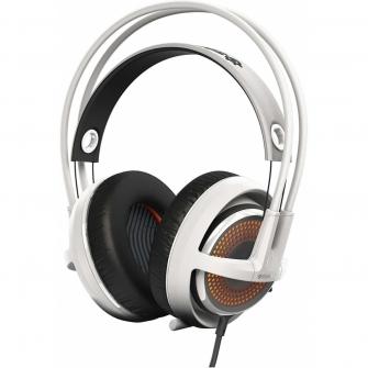 Headset Gamer Steelseries Siberia 350 RGB Dolby 7.1 Branco 51204