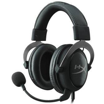 Headset HyperX Cloud II Kingston Black KHX-HSCP-GM