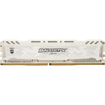 Memória DDR4 Crucial Ballistix Sport Lt, 8GB 3200MHz, White, BLS8G4D32AESCK
