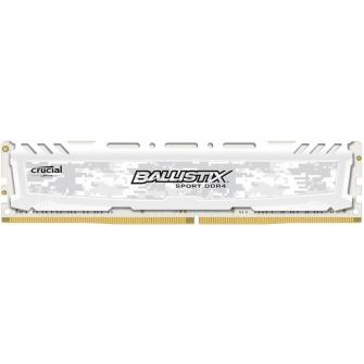 Memória DDR4 Crucial Ballistix Sport LT, 4GB 2666MHz, White, BLS4G4D26BFSC