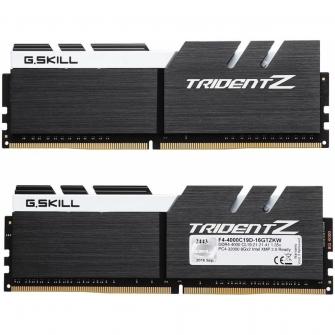Memória DDR4 G.Skill Trident Z, 16GB (2x8GB) 4000MHz, F4-4000C19D-16GTZKW