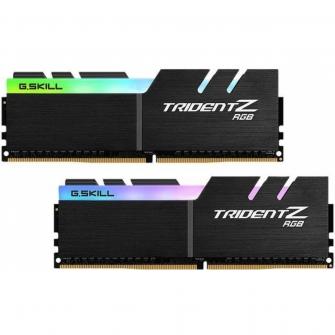 Memória DDR4 G.Skill Trident Z, RGB, 16GB (2x8GB) 2666MHz, F4-2666C18D-16GTZR