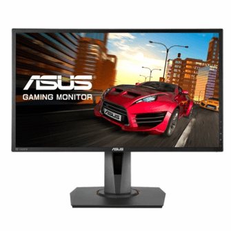 Monitor Gamer Asus 24 Pol, Full HD, 144Hz, 1ms, Adaptive-Sync, Som Integrado, MG248Q