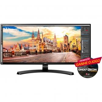 Monitor Gamer LG 34 Pol, Full HD, 60Hz, 5ms, AMD FreeSync, UltraWide, 34UM68