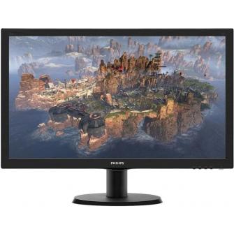 "Monitor Philips Serie V Line LED 23.6"" 243V5QHABA Full HD c/HDMI-VGA-DVI"