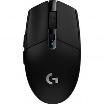 Mouse Gamer Logitech lightspeed G305 6 Botões 12000 DPI USB Preto