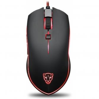 Mouse Gamer Motospeed V40 FMSMS0004PTO 4000 DPI RGB Preto