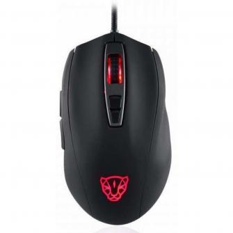 Mouse Gamer Motospeed V60 FMSMS0006PTO 7 Botões 5000 DPI RGB Preto