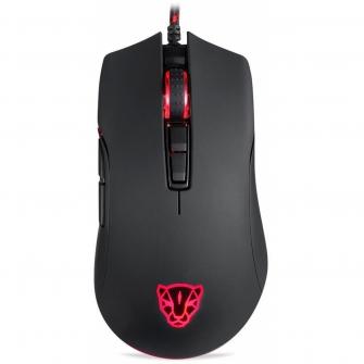 Mouse Gamer Motospeed V70 FMSMS0007PTO 7 Botões 12000 DPI RGB Backlight Preto