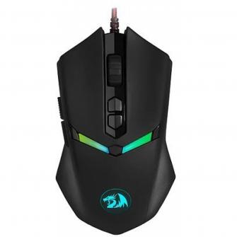 Mouse Gamer Redragon Nemeanlion 2 M602-1, 7200 DPI, 2 Botões Programável, Black