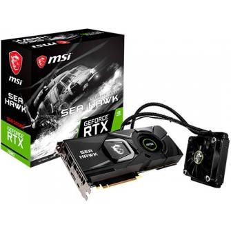Placa de Video MSI GeForce RTX 2080 Sea Hawk X, 8GB GDDR6, 256Bit, 912-V372-008