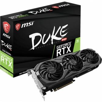 Placa de Video MSI GeForce RTX 2080 Ti Duke OC, 11GB GDDR6, 352Bit, 912-V371-011
