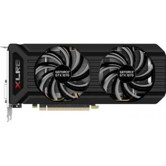 Placa de Vídeo PNY Geforce GTX 1070 XLR8 Gaming, 8Gb GDDR5, 256bit, VCGGTX10708XPB-OC-BB