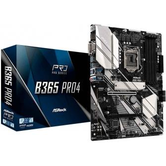 Placa Mãe ASRock B365 Pro4, Chipset B365, Intel LGA 1151, ATX, DDR4