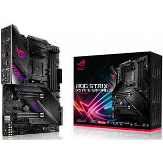 Placa Mãe Asus Rog Strix X570-E Gaming, Chipset X570, AMD AM4, ATX, DDR4