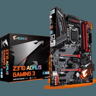 Placa Mãe Gigabyte Z370 Aorus Gaming 3, Chipset Z370, Intel LGA 1151, ATX, DDR4
