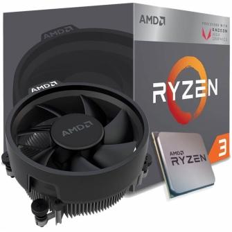 Processador AMD Ryzen 3 2200G 3.5GHz (3.7GHz Turbo), 4-Core 4-Thread, Cooler Wraith Stealth, AM4, YD2200C5FBBOX