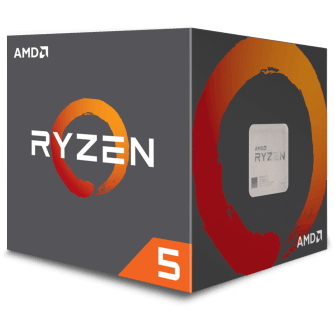 Processador AMD Ryzen 5 2600 3.4GHz (3.9GHz Turbo), 6-Core 12-Thread, Cooler Wraith Stealth, AM4, YD2600BBAFBOX, S/ Video
