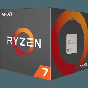 Processador AMD Ryzen 7 1700X 3.4Ghz (3.8GHz Turbo), 8-Core 16-Thread, S/Cooler, AM4, YD170XBCAEWOF, S/ Video