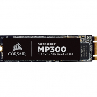 SSD Corsair MP300 240GB, M.2 2280, Leitura 1580MBs e Gravação 920MBs, CSSD-F240GBMP300