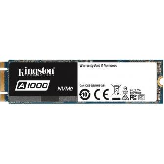 SSD Kingston A1000 960GB, M.2, Leitura 1.500MBs e Gravação 1000MBs, SA1000M8-960G