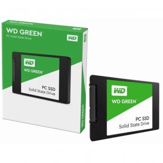 Ssd WD Green 1TB, Sata III, Leitura 545MB/S e Gravação 430MB/s, WDS100T2G0A