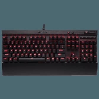 Teclado Mecânico Gamer Corsair K70 LUX Switch Cherry MX Brown Led CH-9101022-BR ABNT2