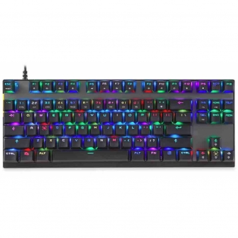 Teclado Mecanico MotoSpeed K82 RGB, Switch Outemu Blue, FMSTC0025AZL
