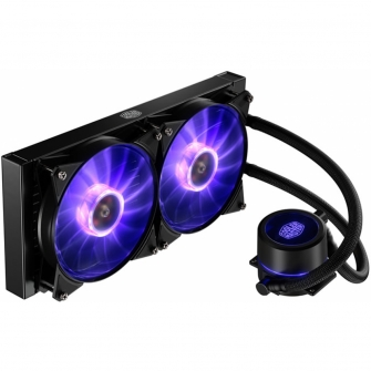 Water Cooler Cooler Master MasterLiquid Pro, RGB 280mm, Intel-AMD, MLY-D28M-A22PC-R1