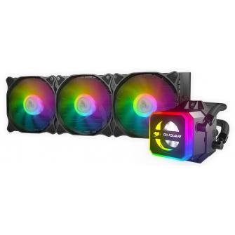 Water Cooler Cougar Helor RGB 360mm, Intel-AMD, RL-HLR360-V1