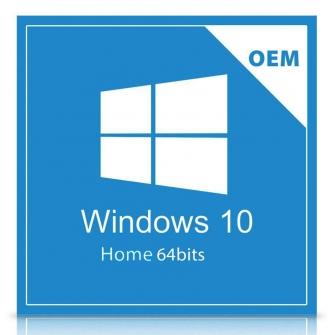 Windows 10 Home 64Bits Português Brasil OEM - KW9-00154