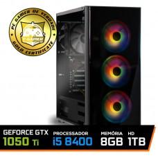 Pc Gamer Super Soldier Lvl-1 Intel Core I5 8400 / Geforce Gtx 1050 Ti 4GB / DDR4 8GB / HD 1TB / 500W