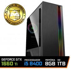 Pc Gamer Super Soldier Lvl-3 Intel Core I5 8400 / Geforce GTX 1660 Ti 6GB / DDR4 8GB / HD 1TB / 500W