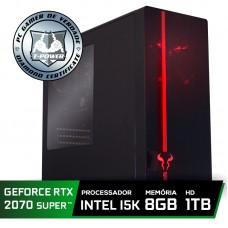 Pc Gamer Super Tera Edition Intel i5 9600KF / Geforce RTX 2070 Super / DDR4 8GB / HD 1TB / 600W