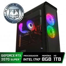 Pc Gamer Super Tera Edition Intel i7 9700KF / Geforce RTX 2070 Super / DDR4 8GB / HD 1TB / 600W