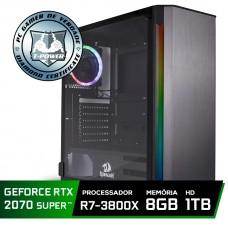 Pc Gamer Super Tera Edition AMD Ryzen 7 3800X / GeForce RTX 2070 / DDR4 8GB / HD 1TB / 600W