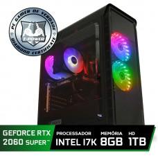 Pc Gamer Super Tera Edition Intel Core I7 8700K / GeForce RTX 2060 Super / DDR4 8Gb / HD 1TB / 600W