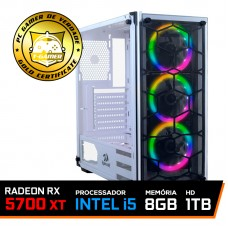 Pc Gamer T-Blade LVL-7 Intel Core i5 10400 / Radeon RX 5700 XT / DDR4 8GB / HD 1TB / 600W