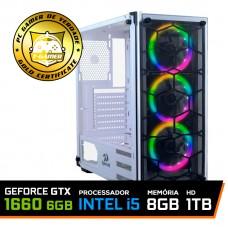 Pc Gamer T-Blade LVL-8 Intel Core i5 10400 / Geforce GTX 1660 6GB / DDR4 8GB / HD 1TB / 500W
