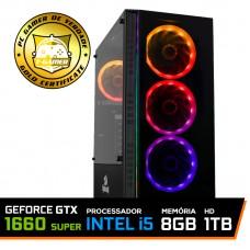 Pc Gamer T-Blade LVL-9 Intel Core i5 10400 / GeForce GTX 1660 Super 6GB / DDR4 8Gb / HD 1TB / 500W