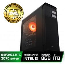 Pc Gamer T-Gamer Edition Intel Core I5 9400F / Rtx 2070 Super 8GB / DDR4 8Gb / Hd 1tb / 600w