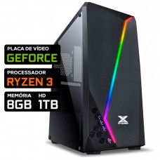 Pc Gamer T-Moba Dominator LVL-1 AMD Ryzen 3 / Nvidia GeForce/ DDR4 8GB / HD 1TB