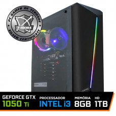 Pc Gamer T-Moba Dominator Lvl-3 Intel I3 9100F / Geforce GTX 1050 TI 4GB / DDR4 8GB / HD 1TB